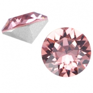Swarovski Elements chaton SS29 (6.2mm) Blush Rose