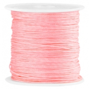 Macramé Satinband 0.8mm Bright rose peach