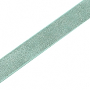 CoCo Dream Imitat Leder flach 10mm Turquoise green