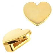 DQ Metall Cuoio/Love Crystal Schieber Stern Gold