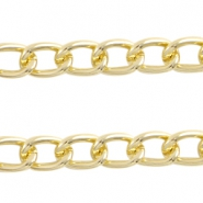 Basic Quality Kette 14x9 mm Gold