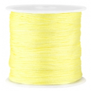 Macramé Satinband 0.8mm  Tender yellow