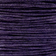 Wachskordel 1.0 mm Dark Purple