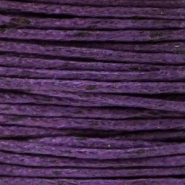 Wachskordel 1.0 mm Purple