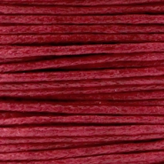 Wachskordel 1.0 mm Ruby red