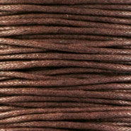 Wachskordel 1.5 mm Chocolate brown