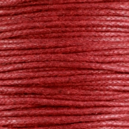 Wachskordel 1.5 mm Ruby red