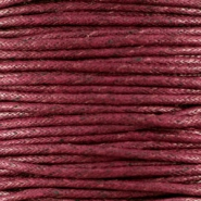 Wachskordel 1.5 mm Bordeaux brown