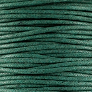 Wachskordel 1.5 mm Dark emerald green