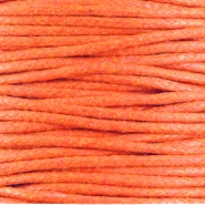 Wachskordel 1.5 mm Warm orange