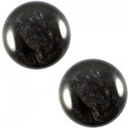 Polaris cabochon Jais 12mm Black