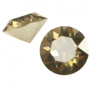 Swarovski Elements SS24 Chaton (5.2mm) Smoky quartz braun
