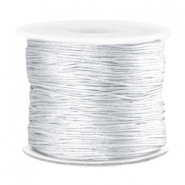 Macramé band 0.7mm Silver