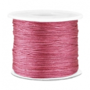 Macramé band 0.7mm Light aubergine red