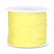 Macramé band 0.7mm Soft yellow