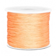 Macramé band 0.7mm Peach orange