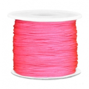 Macramé band 0.7mm Bright pink