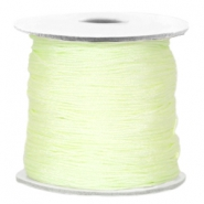 Macramé Draht Light citrine green
