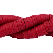 Katsuki Perlen 4mm Velvet red