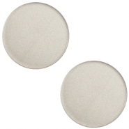 7 mm flach Super Polaris Elements Cabochon Silver shade