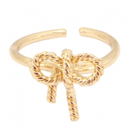 Musthave Ringe Fliege Gold