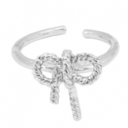 Musthave Ringe Fliege Silber