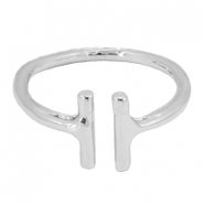 Musthave Ringe double bar Silber