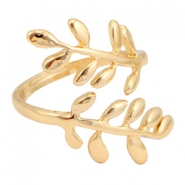 Musthave Ringe branch & leaves Gold