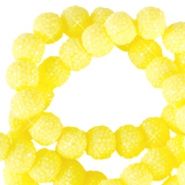 Sparkling beads 6mm Light yellow