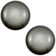 12 mm classic Cabochon Super Polaris Silver night