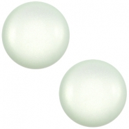 20 mm classic Cabochon Super Polaris Light aqua blue