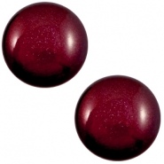 20 mm classic Cabochon Super Polaris Royale aubergine