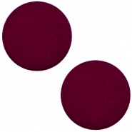 20 mm flach Cabochon Polaris Elements matt Royale aubergine