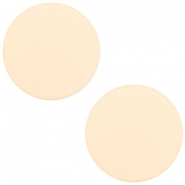 12 mm flach Cabochon Polaris Elements matt Silk beige