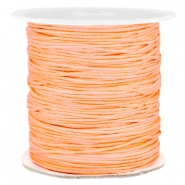 Macramé band 1.0mm Peach orange