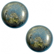 20 mm classic Cabochon Polaris Elements Stardust Blue shade
