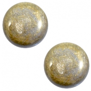20 mm classic Cabochon Polaris Elements Stardust Grey