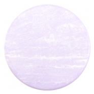 35 mm flach Cabochon Polaris Elements Sparkle dust Lilac purple