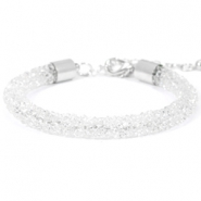 Crystal diamond Armbänder 7 mm Crystal