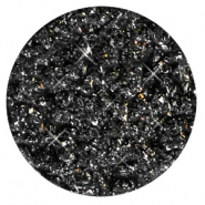 35 mm flach cabochons Polaris Elements Goldstein Black