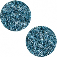 12 mm flach Cabochon Polaris Elements Goldstein Mosaic blue