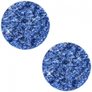 12 mm flach Cabochon Polaris Elements Goldstein Cobalt sapphire blue