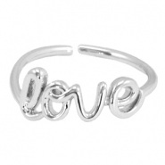 Musthave Ringe 'Love' Silber