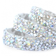 Crystal Diamond tape 10mm Silver-diamond coating
