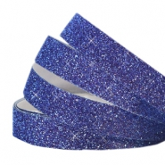 Crystal Glitzer tape 10mm Indigo blue
