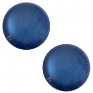 12 mm classic Cabochon Polaris Elements sanft Töne shiny Radiant blue