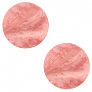 12 mm flach Cabochon Polaris Elements Mosso shiny Canyon rose