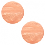 20 mm flach Cabochon Polaris Elements Mosso shiny Light blush pink