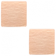 20 mm flach Cabochon Polaris Elements viereckig Light blush pink