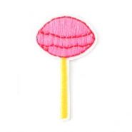 Patches Lolly Rosa-gelb